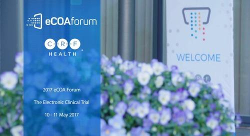 eCOA Forum 2017 - Overview
