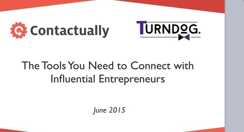 The Tools You Need To Connect With Influential Entrepreneurs (featuring Matthew Turner)