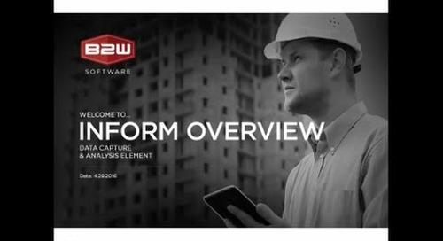 B2W Inform Webinar