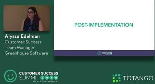 The Volume Play - Customer Success Summit 2018 (Track 3)