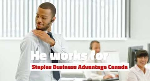 Working for Staples Business Advantage Canada