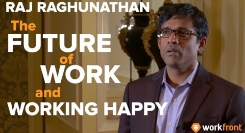 Raj Raghunathan at Leap 2017: The Future of Work and Working Happy
