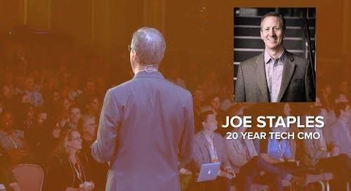 Joe Staples - Workfront CMO speaker reel 2017
