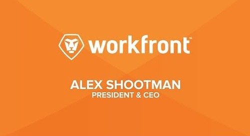Alex Shootman - Workfront CEO speaker reel 2017