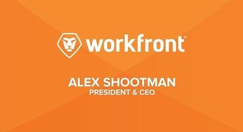 Alex Shootman - Workfront CEO speaker reel 2017