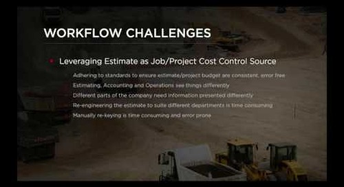 B2W Webinar - Field Progress Tracking for Heavy Civil Construction