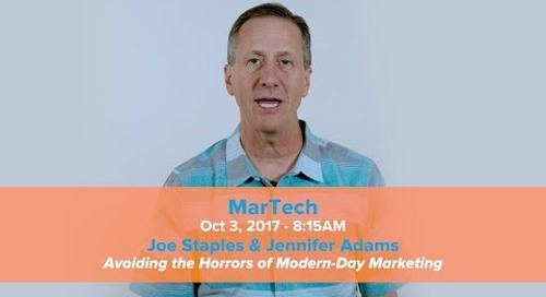 Join us at MarTech Boston!