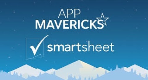 App Mavericks- Collaborate More Efficiently with Smartsheet Project Management