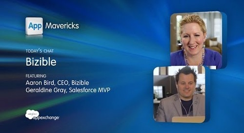 AppMavericks - Bizible Connects Sales and Marketing Data in Salesforce