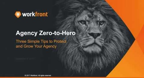 Agency Zero to Hero: Three Simple Tips to Protect and Grow Your Agency