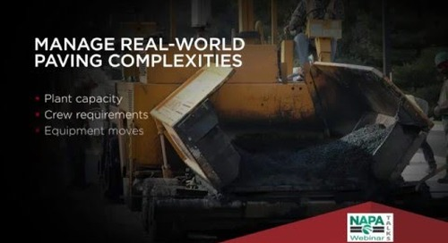 How Paving Companies Benefit from a Unified Software Platform
