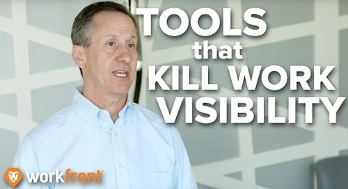 """""""4 Misused Tools That Kill Work Visibility"""" - Marketing Project Management w/ Joe Staples"""
