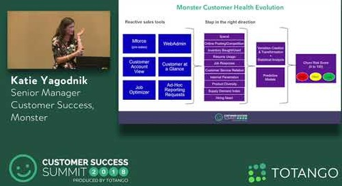 Using Health as the Framework for Company-Wide Alignment - Customer Success Summit 2018 (Track 2)
