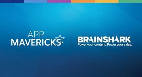 App Mavericks- Increase Sales Performance with Brainshark Sales Accelerator