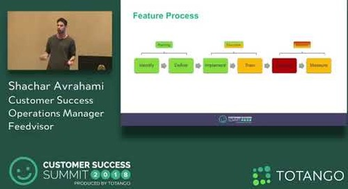 Success Operations 2.0 - Customer Success Summit 2018 (Track 2)