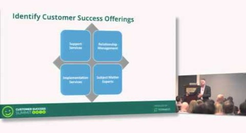 Lessons Learned in Building a Best-in-Class Customer Success Organization - Remy Malan
