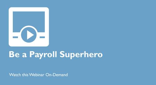 Be a Canadian Payroll Superhero at Reporting
