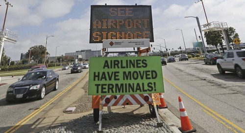 Los Angeles' Airport Swapped All the Airlines at Its Terminals
