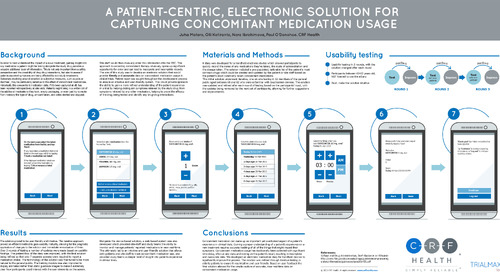 Poster: A Patient-Centric Electronic Solution for Capturing ConMeds