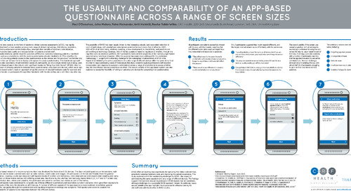 Poster: Comparability of an App-Based Questionnaire Across Screen Sizes