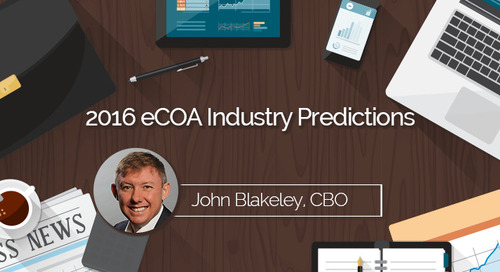2016 eCOA Industry Predictions:  Patient Centricity