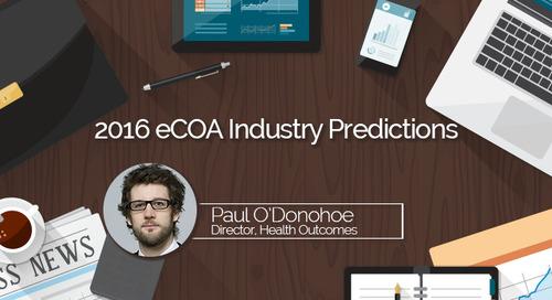 2016 eCOA Industry Predictions:  BYOD