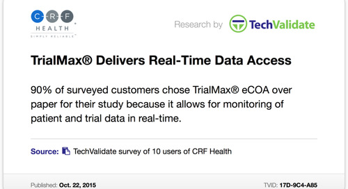 TrialMax® Delivers Real-Time Data Access
