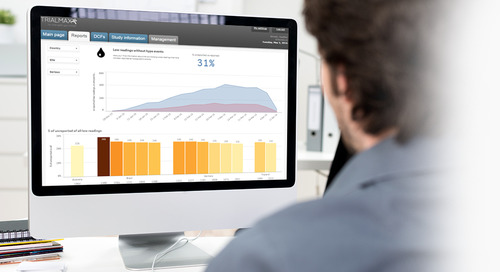 CRF Health Enhances TrialManager™ for Intelligent eCOA Reporting & Data Visualization