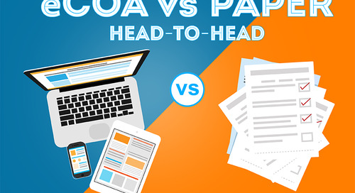 eCOA vs Paper: Head-to-Head