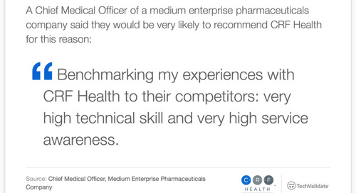 Testimonial: Recommended for Technical Skills and Service Awareness