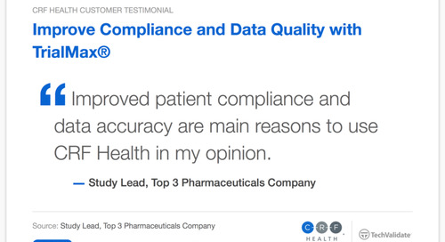 Testimonial: TrialMax® Improves Compliance and Data Quality
