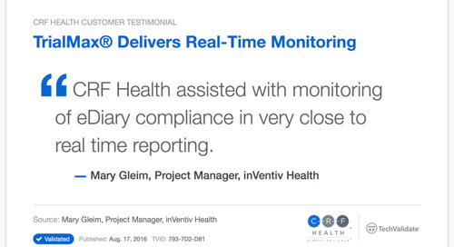 TrialMax® Delivers Real-Time Monitoring