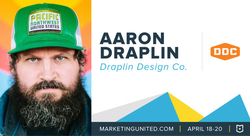 MU Speaker Spotlight: Aaron Draplin of Draplin Design