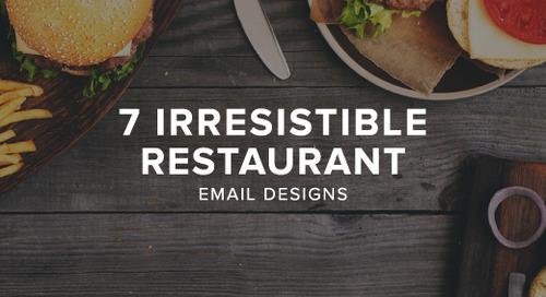 7 irresistible restaurant email designs
