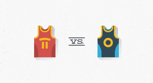 Email showdown: Cavs vs. Warriors
