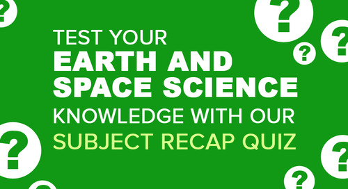 Earth and Space Science Recap Quiz | Science