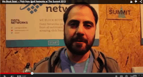 We Block Bots! -- Pitch from Distil Networks at Web Summit 2013 in Dublin