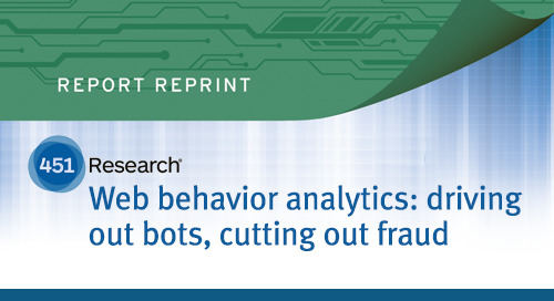 451 Report Reviews the Web Behavior Analytics Landscape