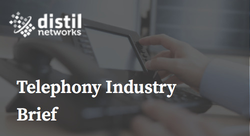Telephony Fraud Industry Brief
