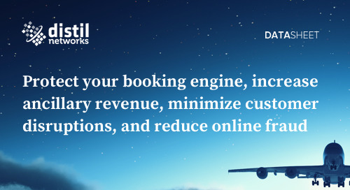 Protect Your Booking Engine & APIs From Bad Bots | Bot Defense Platform Airline Datasheet