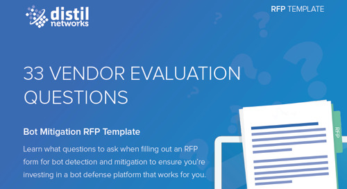 Bot Mitigation Vendor RFP Template: 33 Evaluation Questions to Ask