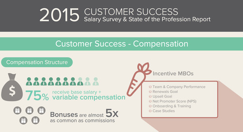 Infographic: 2015 Customer Success Salary Survey & State of the Profession Report