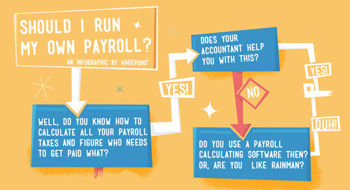 Infographic: Should I run my own payroll?