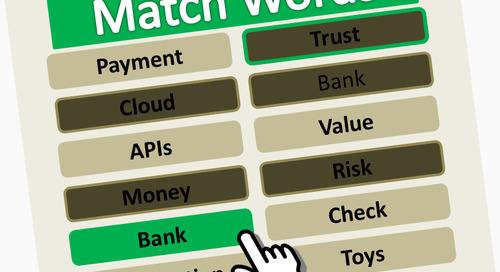 A Game of #FintechRevolution Word Association