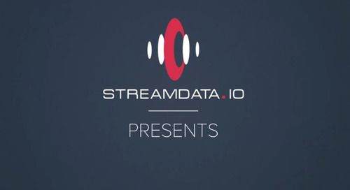 Demo: Creating Stream for a Real Time UX in Under One Minute