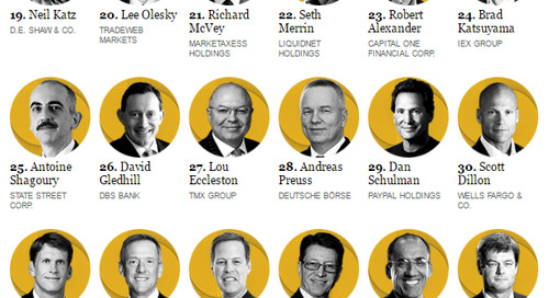 These 50 People Are Making Financial Services Faster, Cheaper, Bigger