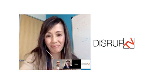 DisrupTV featuring our CMO, Emily He