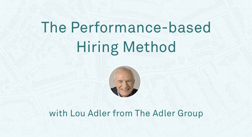 "Lou Adler - ""The Performance-Based Hiring Method"""