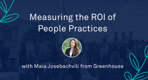 """Maia Josebachvili - """"Measuring the ROI of People Practices: Crafting the Business Case for Unlocking Investment"""""""