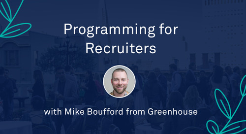 """Mike Boufford - """"Programming for Recruiters"""""""